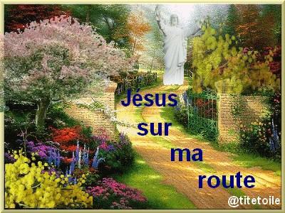 jesus sur ma route