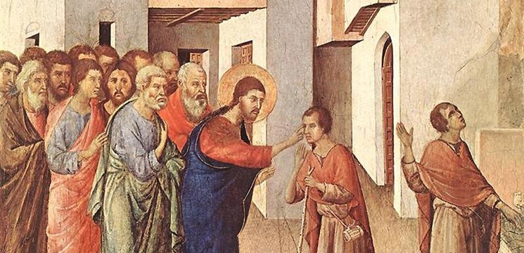 MÉDITATIONS CHRÉTIENNES POUR TOUTE L`ANNÉE - Pere Buse`e - Cie de Jésus - année 1708 Gu%C3%A9rison-de-laveugle-n%C3%A9petite